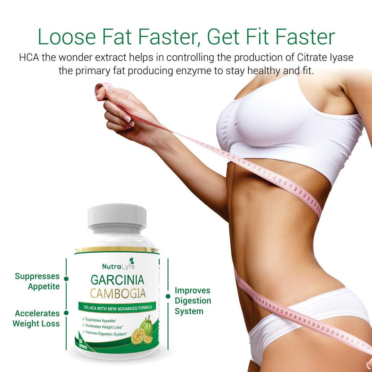 Buy Nutralyfe Garcinia Cambogia Extract 70 Hca For Quick Weight
