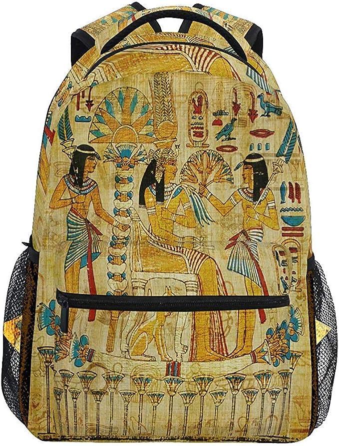 Mochila Escola,Papiro Egipcio Antiguo Mochilas Casuales para ...