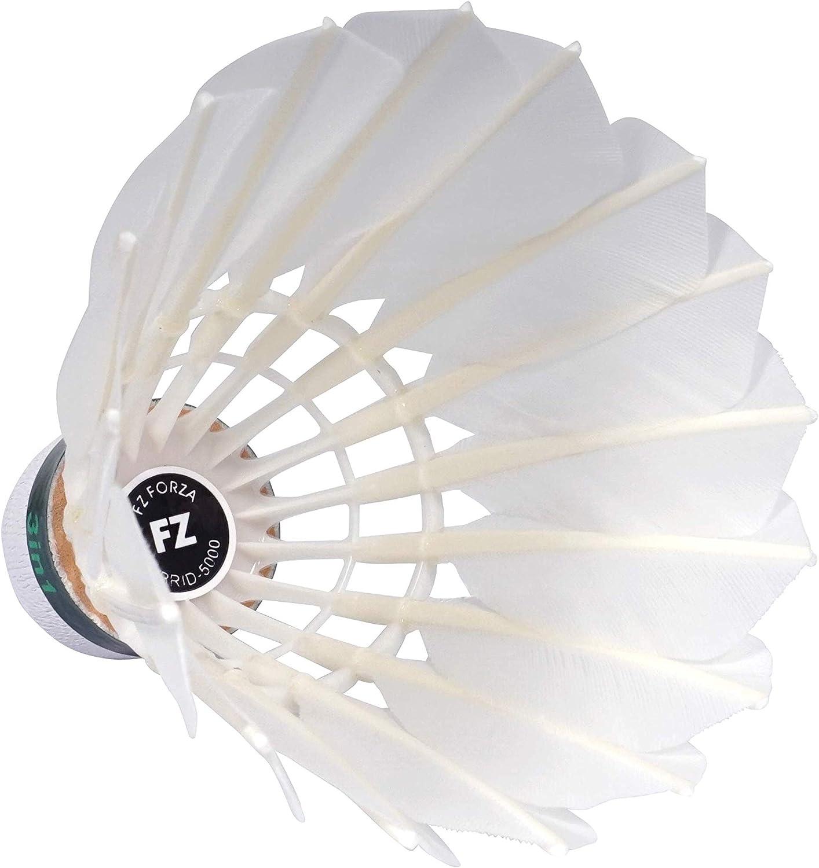 FZ FORZA Hybrid 5000 Bal/ón de b/ádminton h/íbrido Nailon y Natural