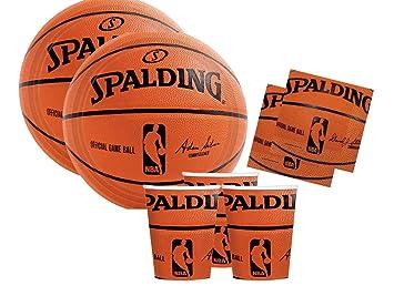 buona qualità classcic acquisto speciale am-scan Kit n 2 Accessori Festa Spalding Basket NBA Party ...