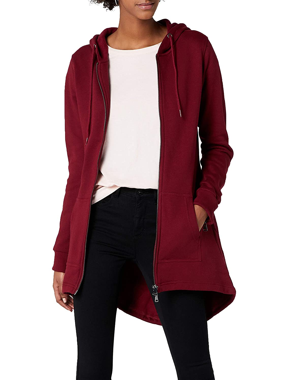 TALLA X-Large (Talla del fabricante: X-Large). Urban Classics Jacke Sweat Parka Chaqueta para Mujer