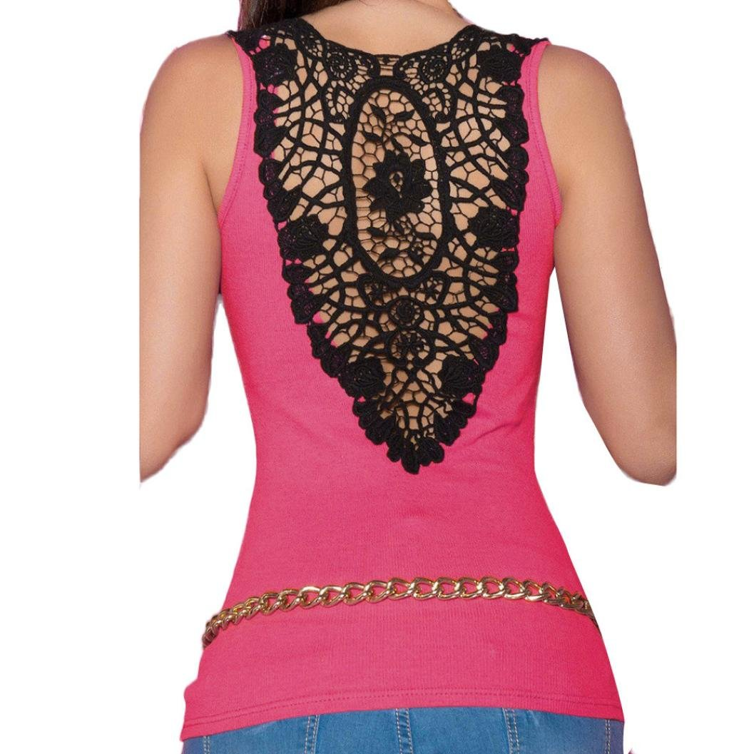 Amazon.com: FORUU womens Tops & Tees Tank Tops, Womens Bandage Summer Sexy Lace Back Halter Fashion Camisole FORUU: Clothing