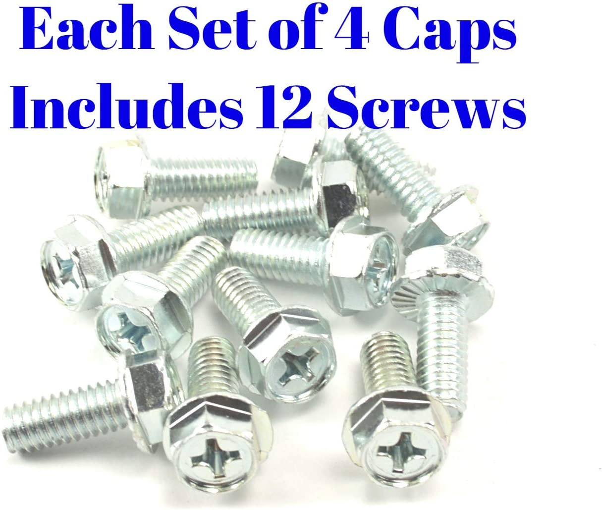 BB Auto Set of 4 New 4x4 6 Lug 15 inch 15x8 Rally Wheel Center caps Replacement for Chevrolet Chevy GMC Truck 2 Open Front Caps 2 Rear Closed caps