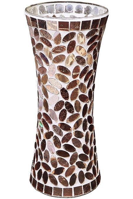Amazon Galashield Ceramic Mosaic Glass Vase 118 Tall Home