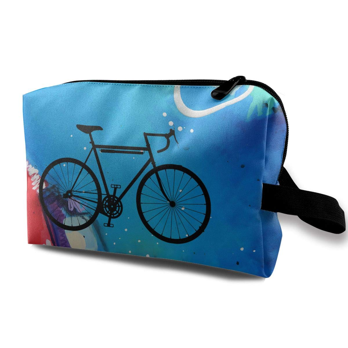 Outdoor Tavel Storage Tools Bag, Canvas Racing Bike Bicycle Tool Pouch Tote Bags for Women & Girls CoCo PopCorn