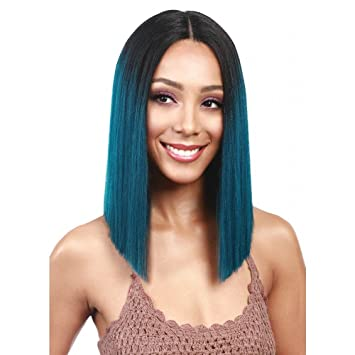 Amazoncom Bobbi Boss Mlf136 Yara Lace Front Wig Color 2 Beauty
