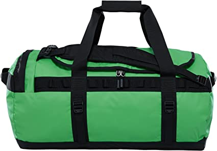 ee61389955 Amazon.com: The North Face Base Camp Duffel, Classic Green/TNF Black ...