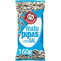 Matutano Matu Pipas Semillas de Girasol Tostadas y Saladas - 160 g