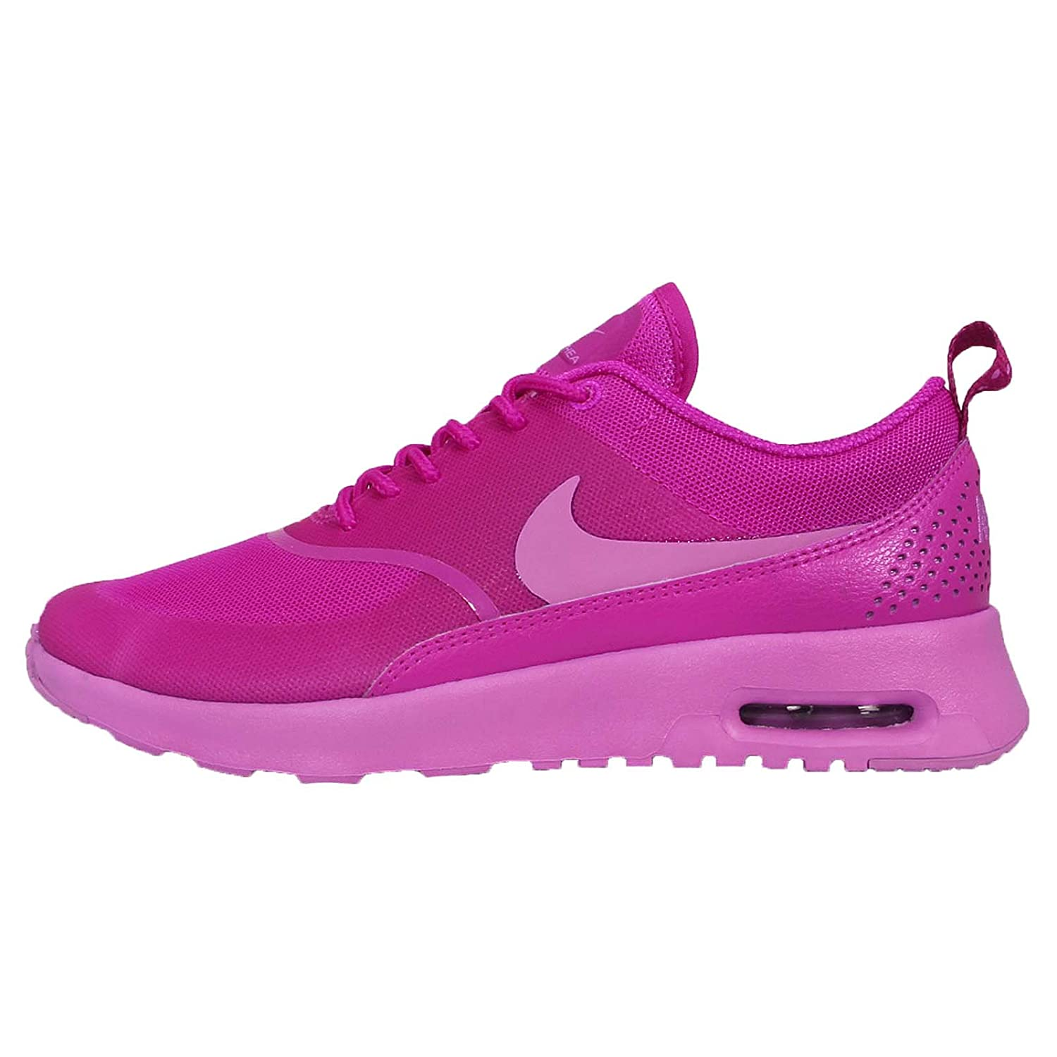NIKE Women's Air Max Thea Low-Top Sneakers, Black B00MFRU59W 5 M US|Fucshia Flash/Fuchsia Glow