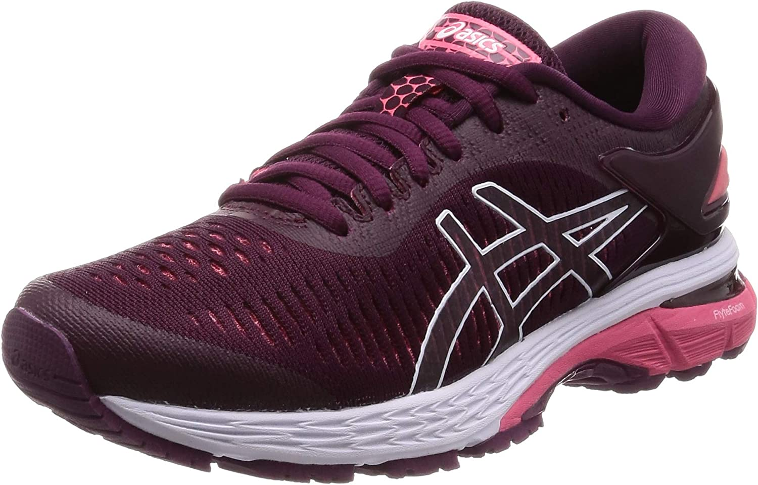 ASICS Womens Gel Kayano 25 Cushioned Breathable Running Shoes