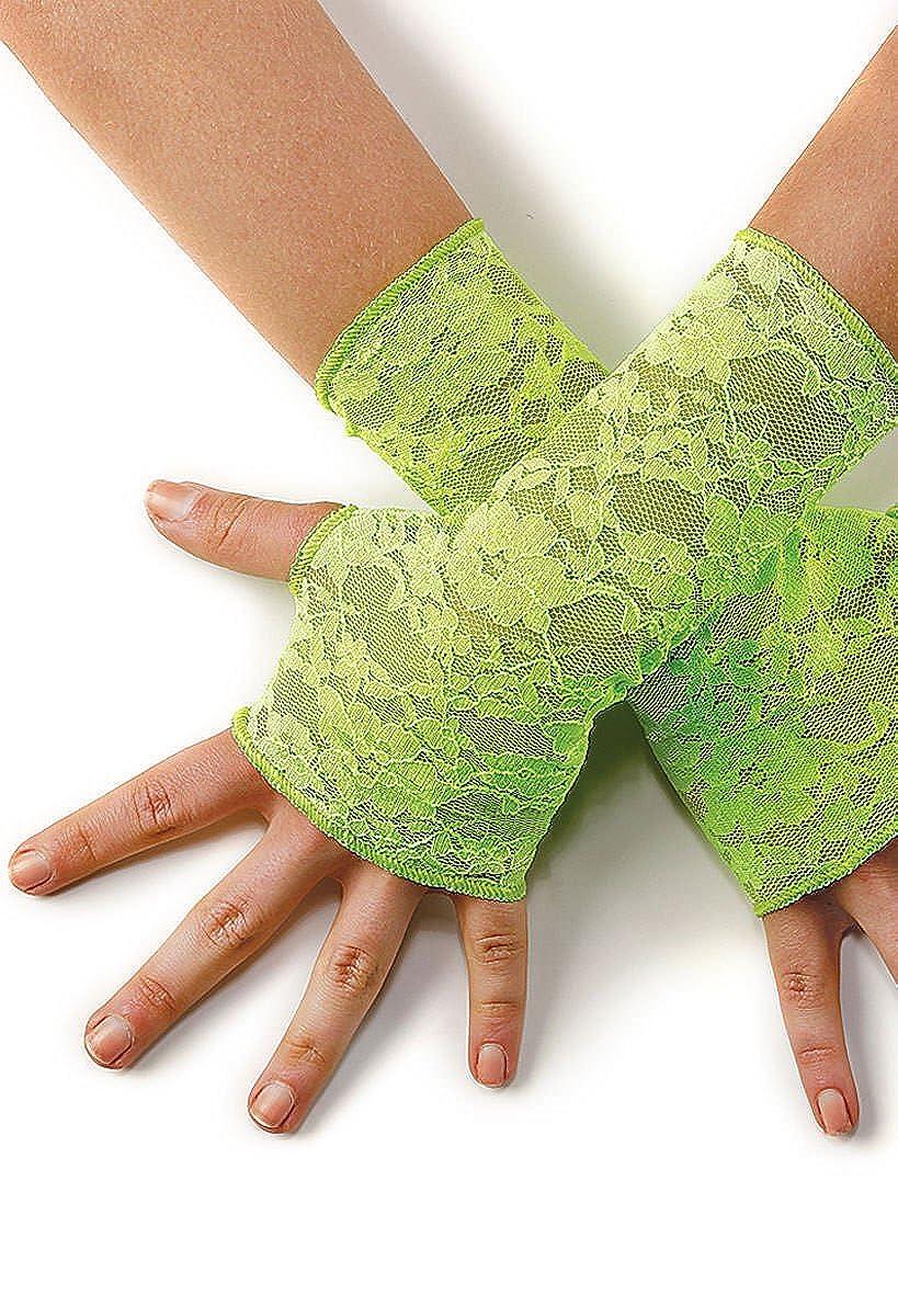 Balera Dance Costume Fingerless Gloves Stretch Lace 99-6437