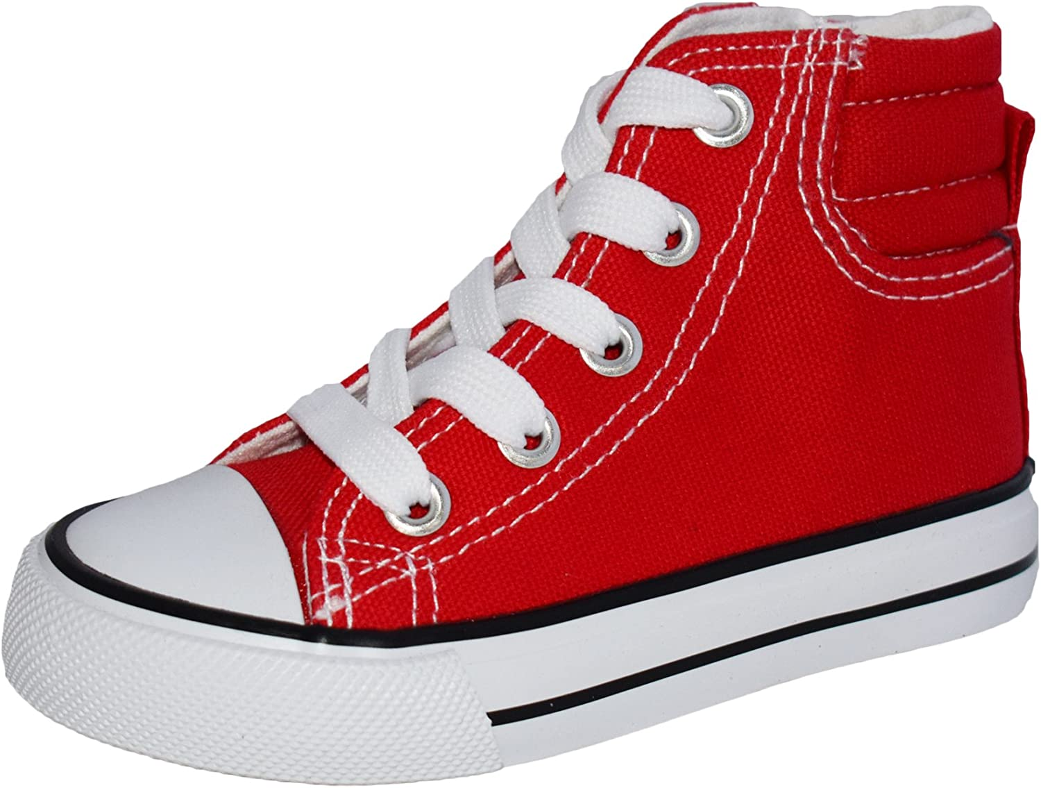 Girls Sneakers Classic Lace Up