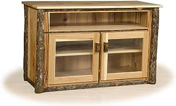 Amazon.com: Furniture Barn USA Rustic Hickory TV Stand with ...