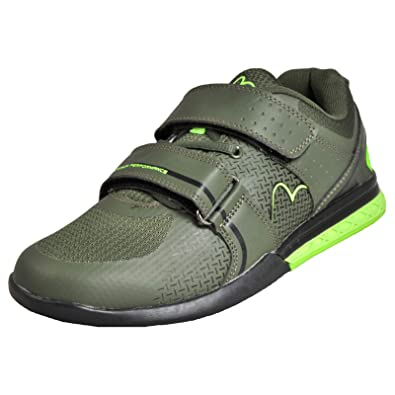 More Mile Super Lift 3 Crossfit/Weightlifting Shoes - Zapatillas de Peso, Color Verde: Amazon.es: Deportes y aire libre