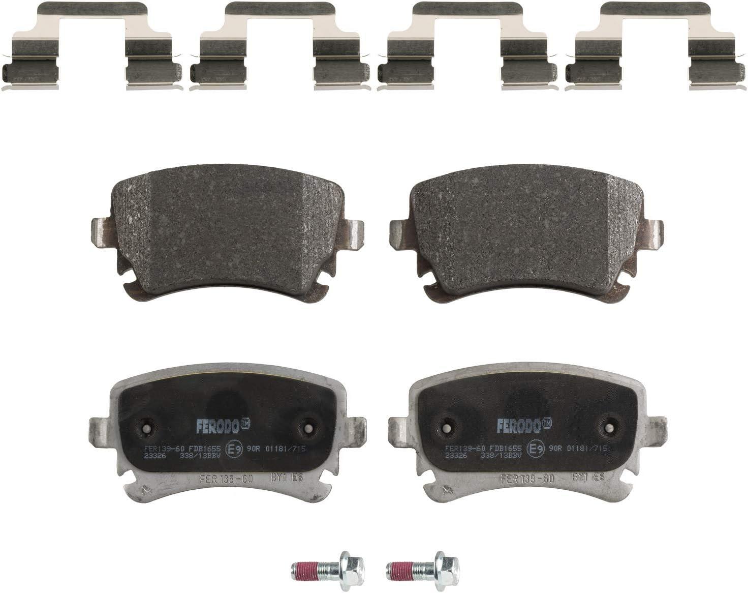 Scheibenbremse FERODO FDB1645 Bremsbelagsatz