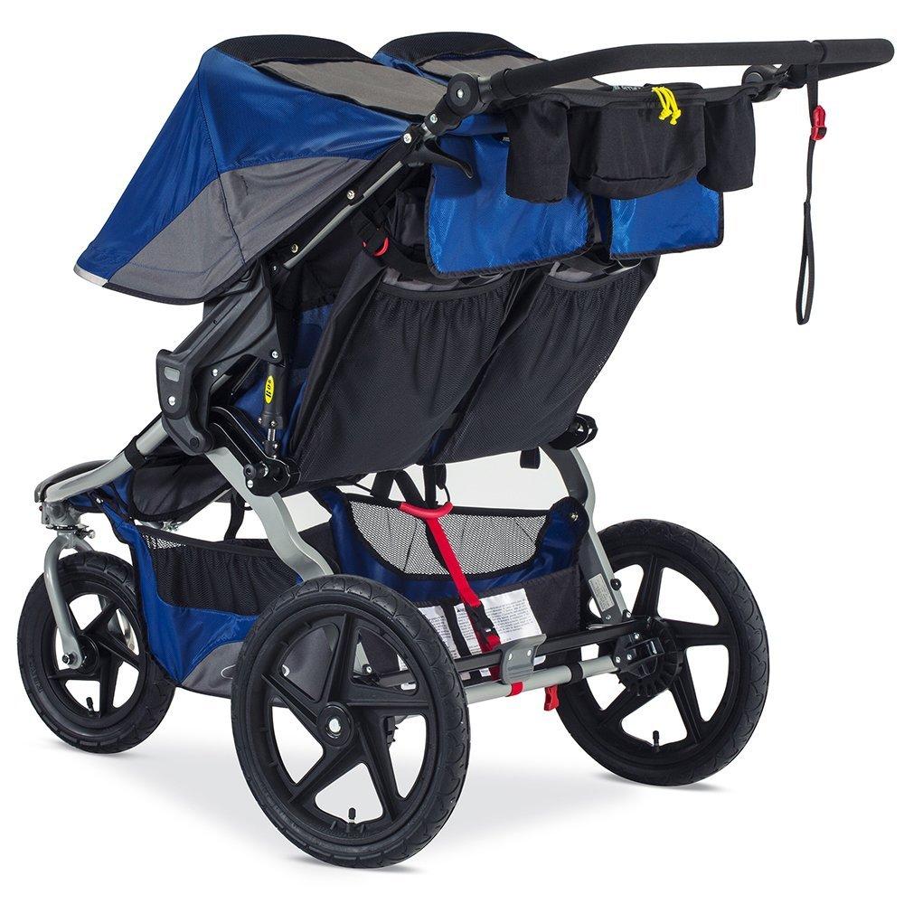 Amazon.com : BOB Stroller Strides Fitness Duallie Jogging Stroller, Blue :  Baby