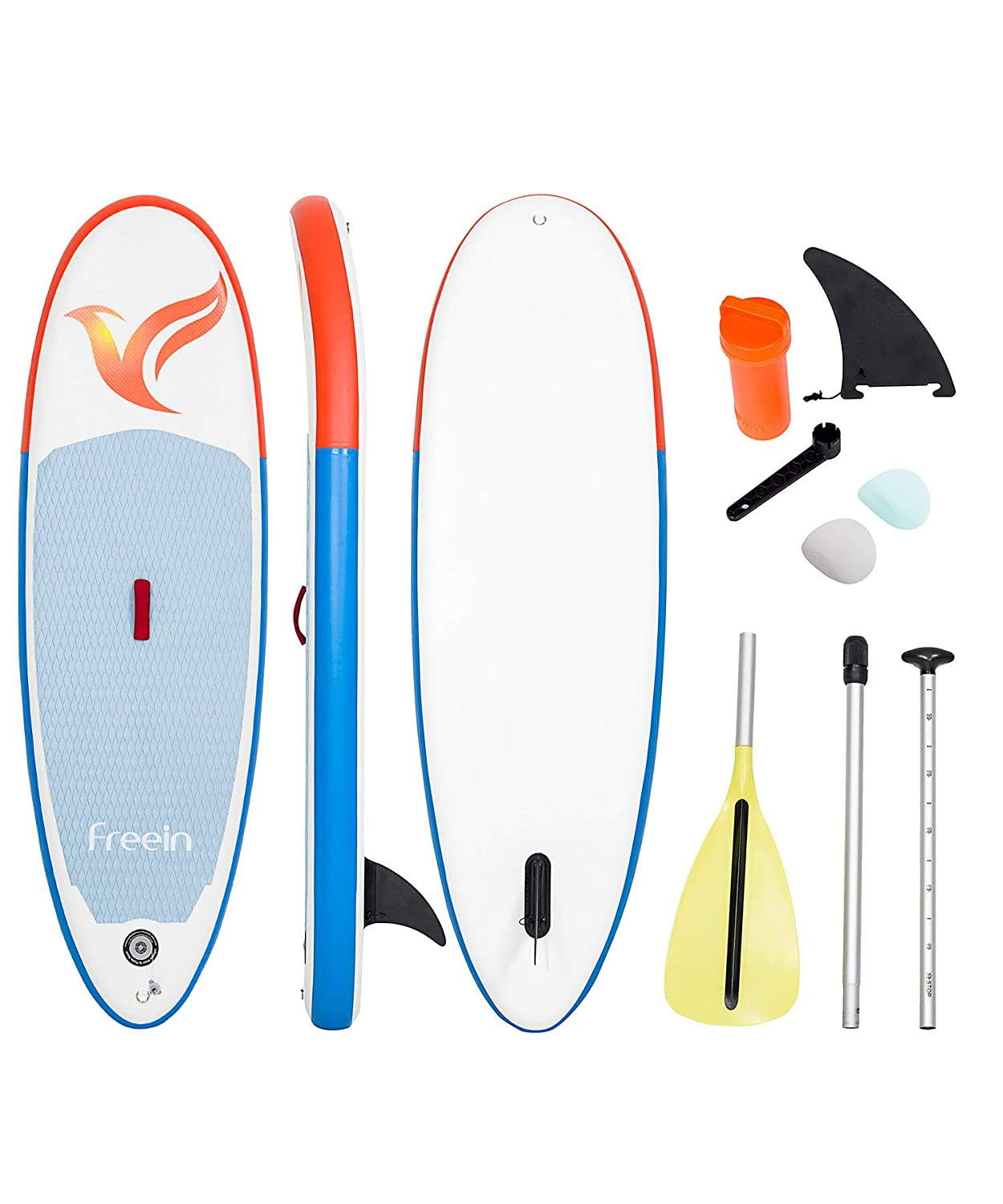 2 Years Warranty Reusable Aluminium Floating Paddle 78x28x6 Inflatable Stand Up Paddle Board Freein Cruise SUP Set for Kids