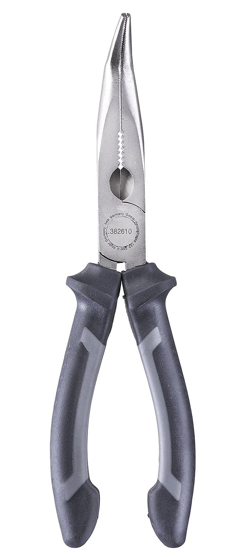 KWB AB-160 –  Alicates 200 mm 382610 (segú n DIN ISO 5745, forma curvada, bordes cortar endurecida, acero CV)