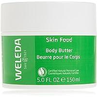 WELEDA Skin Food Body Butter Vegan Kroppssmör i ny glasburk – rik naturkosmetik fuktighetskräm med shea- och kakaosmör…