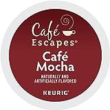 Cafe Escapes Cafe Mocha Keurig Single-Serve K-Cup Pods, 24 Count