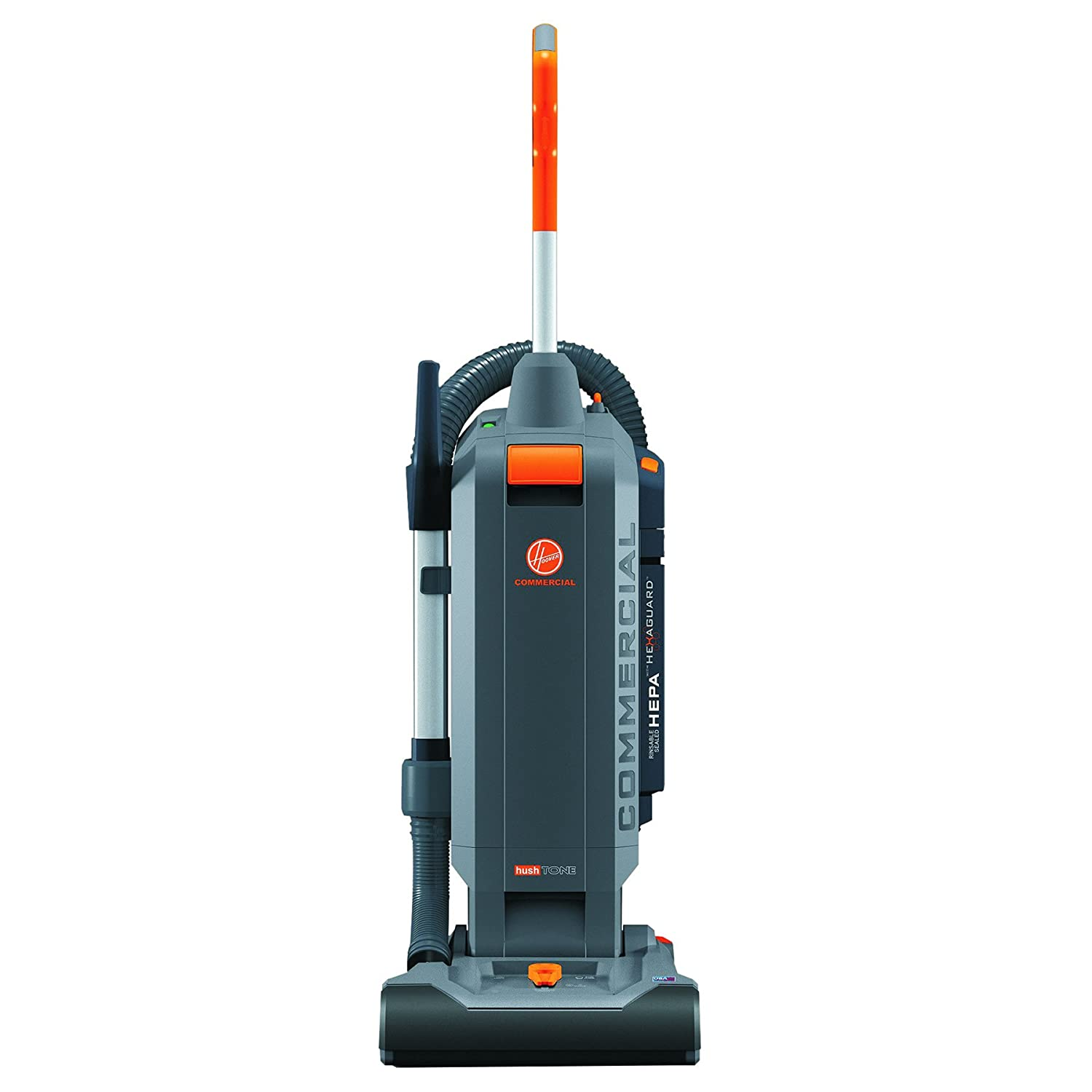 """Hoover Commercial CH54013 HushTone Hard-Bagged Upright, 13"""""""