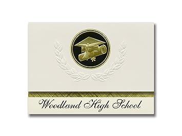 Amazon Com Signature Announcements Woodland High School