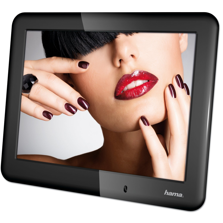 Hama Digitaler Bilderrahmen Slimline Basic 8 Zoll: Amazon.de: Kamera