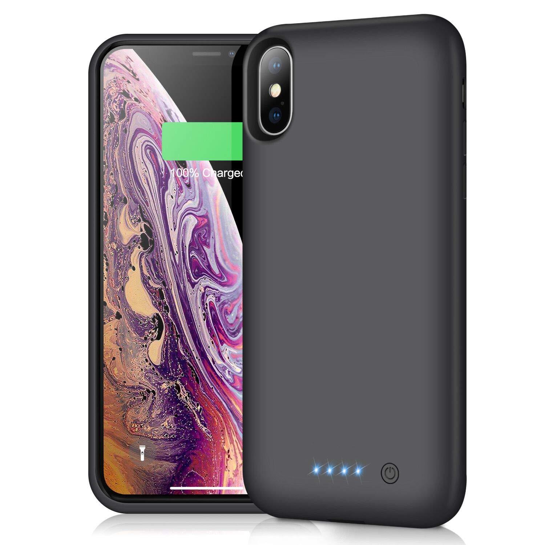 Funda Con Bateria de 7800mah para Apple Iphone Xs Max QTSHINE [7N1G61XC]