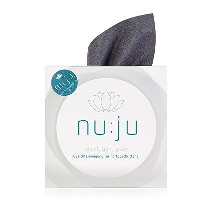 Toallita de limpieza facial nu:ju® 2in1 de microfibra - solo se debe emplear