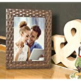 Painting Mantra Brown Bar Table Wood Photo Frame (Photo Size 5x7 inches, Brown)