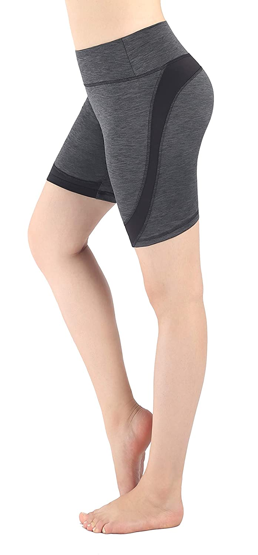 Zinmore Women's Ladies Running Cycling Shorts Workout Yoga Short Pants 6.5 Inseam