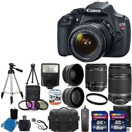 Canon EOS Rebel T5 EF-S de 18 Mp Cámara réflex digital garantía de ...