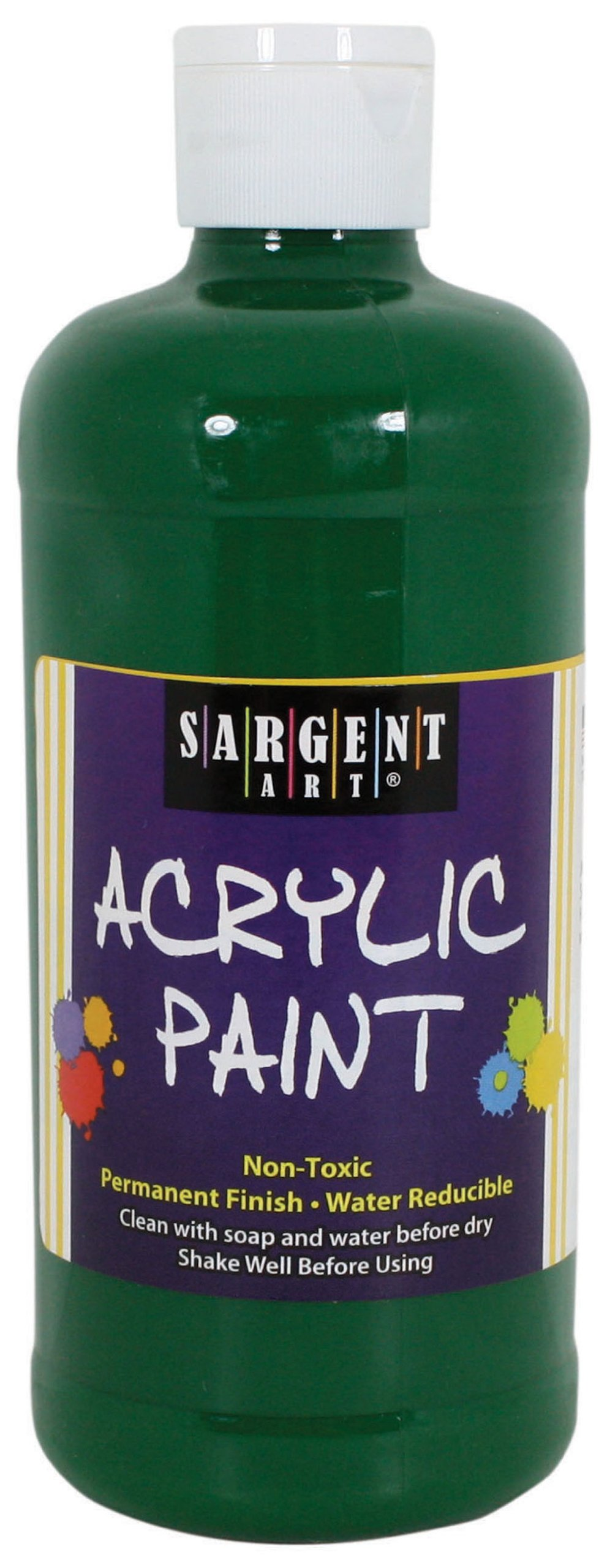 Sargent Art 24-2466 16-Ounce Acrylic Paint, Green