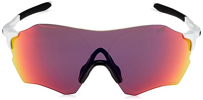 Oakley Herren Evzero Range 932710 Sonnenbrille, Weiß (Matte White/Prizmroad), 38