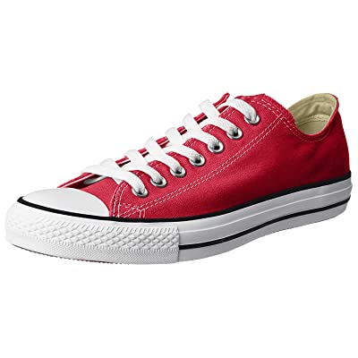 Converse Unisex Chuck Taylor All Star Ox Low Top Red Sneakers - 4.5 Men 6.5 Women | Fashion Sneakers
