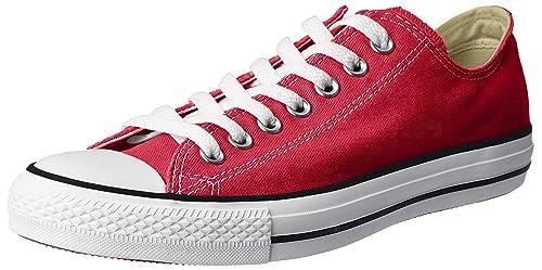 zapatos converse rojas mujer