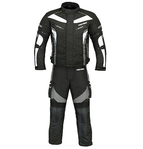 Bikerwear Traje de moto Todo el tiempo motocicleta armada 2 ...