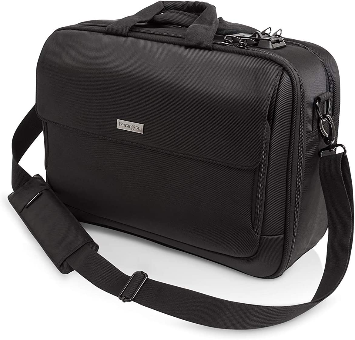 "Kensington SecureTrek 15"" Lockable Anti-Theft Laptop Briefcase (K98616WW)"