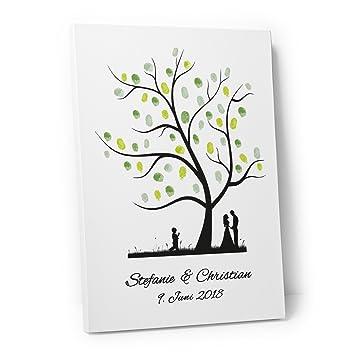 Etwas Neues genug DeinWeddingshop Wedding Tree – Leinwand zur Hochzeit #IF_96