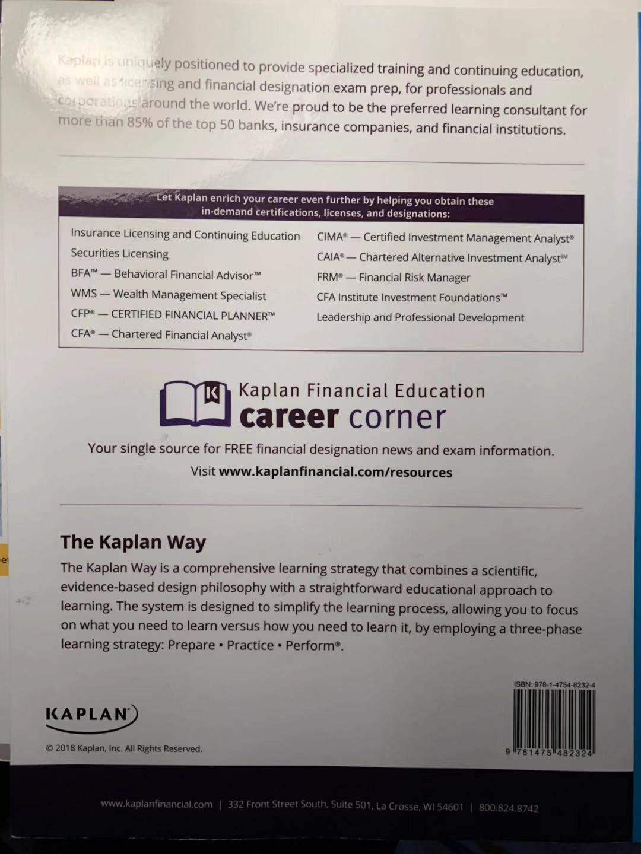 Series 6 Securities License Exam Manual Kaplan Series 6 Newest
