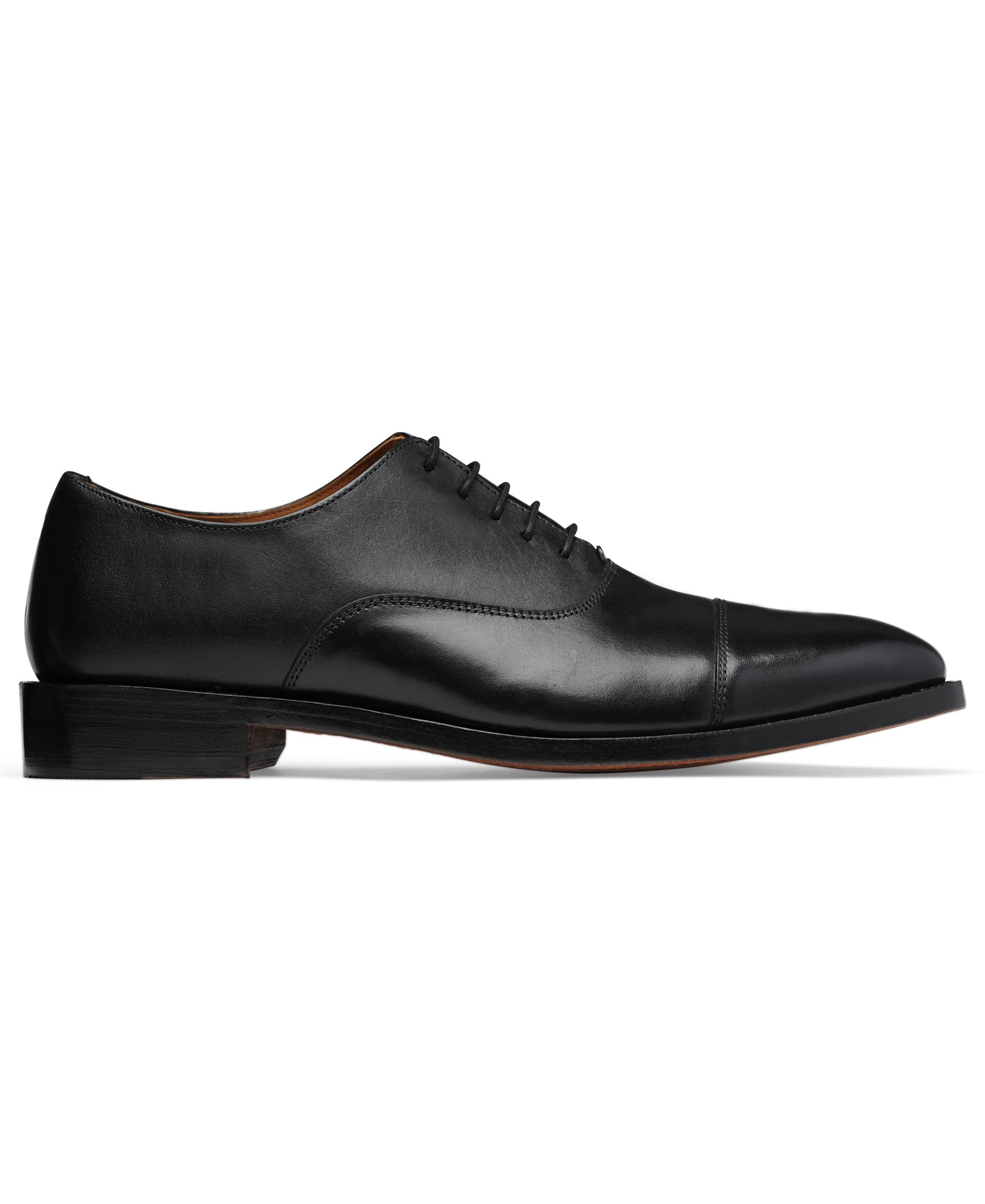 Anthony Veer Mens Clinton Cap-toe Oxford Leather Shoe in Goodyear Welted Construction (10.5 D, Black) by Anthony Veer (Image #3)