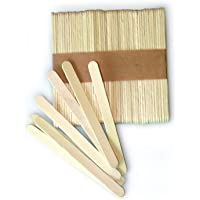 Silikomart Silicone Easy Cream Wooden Sticks for Ice Cream Bars, Set of 100