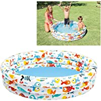 Intex 59431NP - Piscina hinchable 3 aros peces