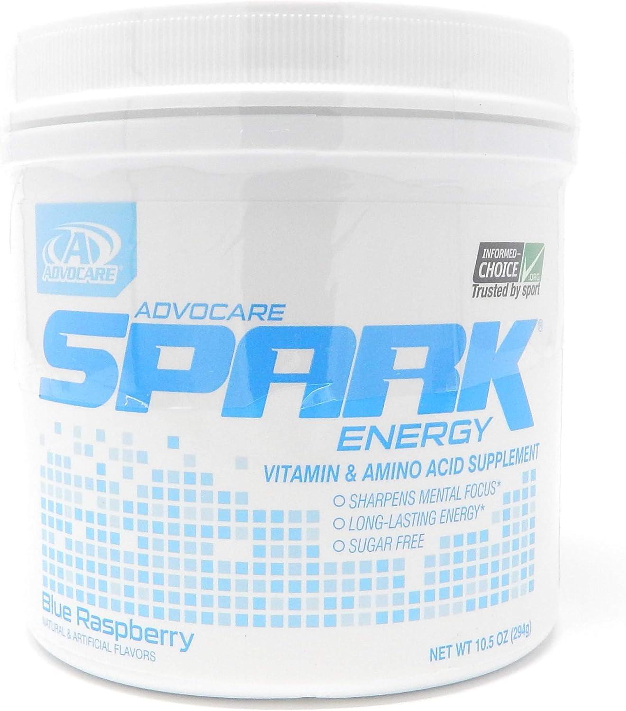 Advocare Spark Blue Raspberry Energy Formula (42 Serving)