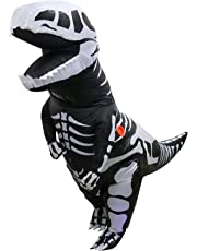 SAOMAI T-Rex Inflatable Dinosaur Mascot Costume Party Festival Park for Adult Size high 2.2m