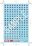 ホビージャパン フレームアームズ・ガール 瞳デカールセット02 フレズヴェルク用 プラモデル用デカール FA002D