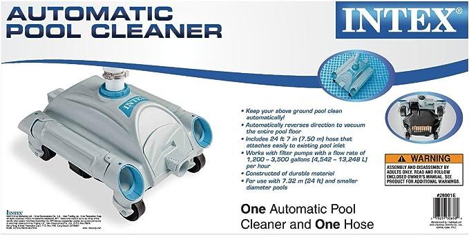 Legnagoferr Intex 28001 - Robot limpiador automático para piscinas ...