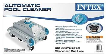 Legnagoferr Intex 28001 - Robot limpiador automático para piscinas desmontables, tubo de 7,5