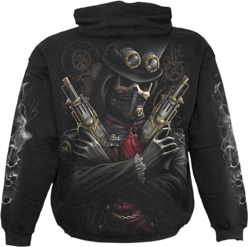 Spiral Boys - Steam Punk Bandit - Kids Hoody Black 4