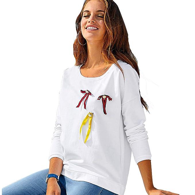 VENCA Sudadera con 3 broches de Quita y pon Mujer by Vencastyle - 023722: Amazon.es: Ropa y accesorios